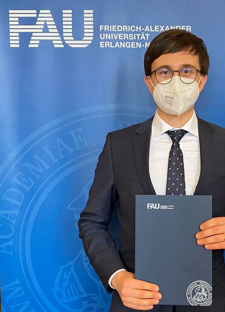 Prof. Benedikt Morschheuser FAU First Day